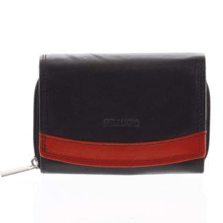 Dámská kožená peněženka černá - Bellugio Aleron černá
