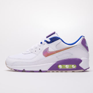 Nike W Air Max 90 SE White/ Multi-Color-Purple Nebula