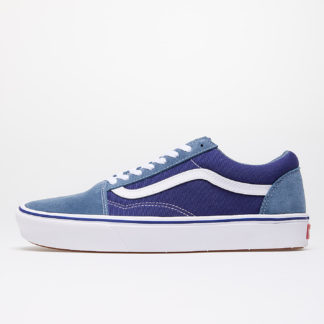 Vans ComfyCush Old Skool (Suede/ Textile) Denim/ Blue