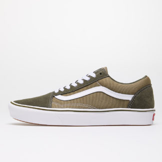 Vans ComfyCush Old Skool (Suede/ Textile) Grape Lead/ Lizard