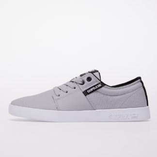 Supra Stacks II Lt Grey Tuf-White
