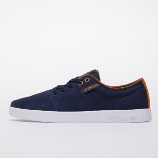 Supra Stacks II Navy/ Tan-White