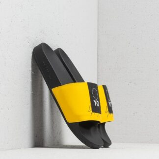 Y-3 Adilette Yellow/ Black/ Yellow