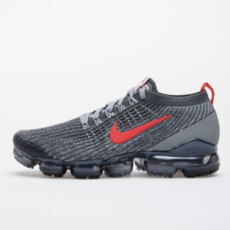 Nike Air Vapormax Flyknit 3 Iron Grey/ Track Red-Particle Grey