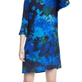 Desigual modré šaty Vest Tennessee