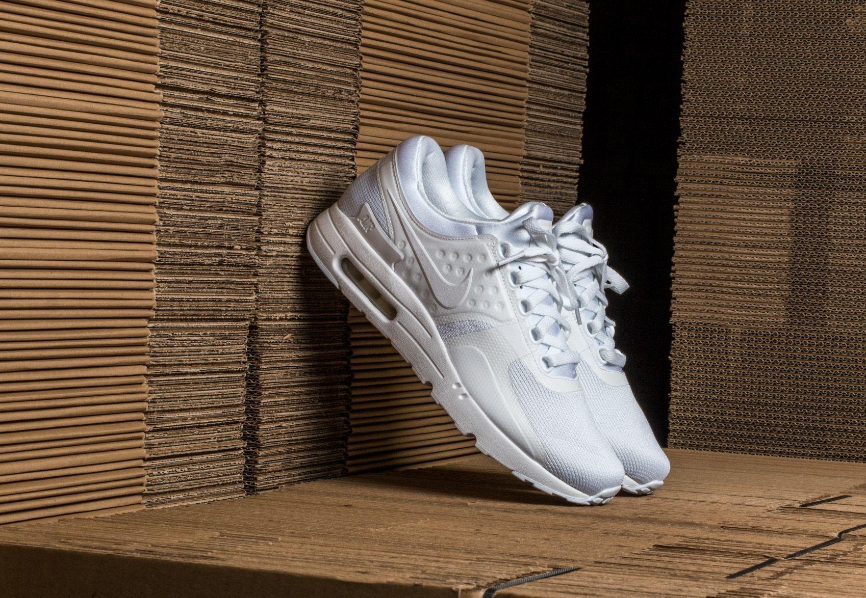 Nike Air Max Zero Essential White/ White-Wolf Grey 876070-100
