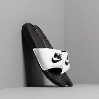 Nike Benassi Jdi White/ Black-Black 343880-100