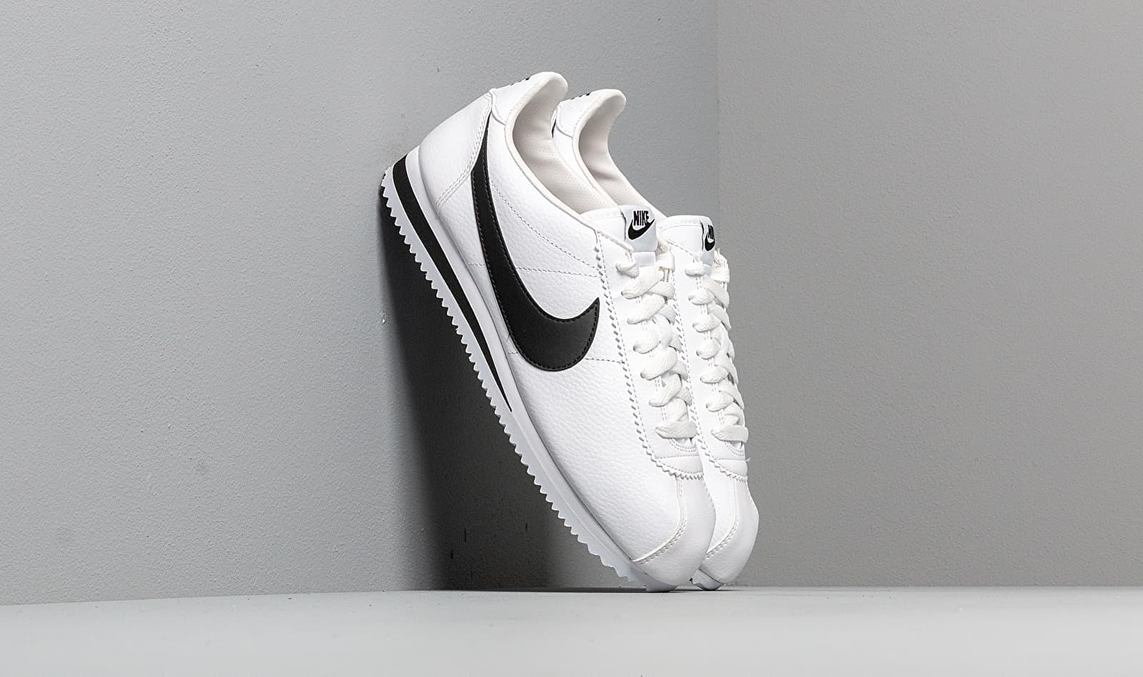 Nike Classic Cortez Leather White/ Black 749571-100