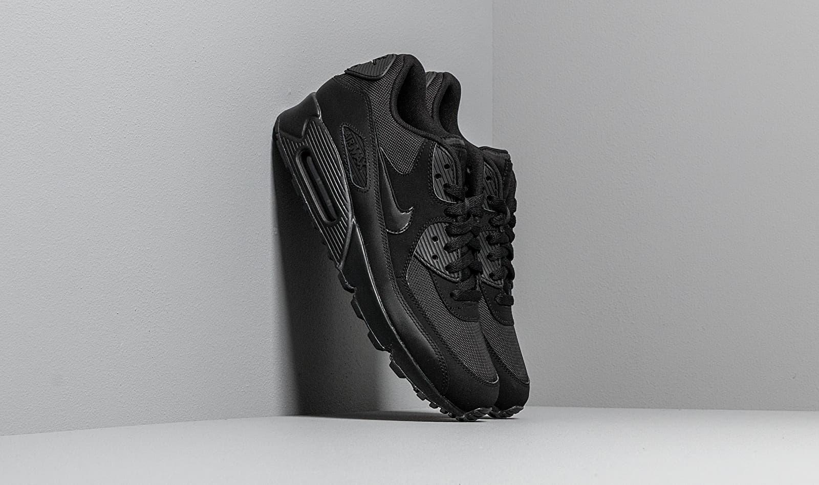 Nike Air Max 90 Essential Black/ Black-Black-Black 537384-090