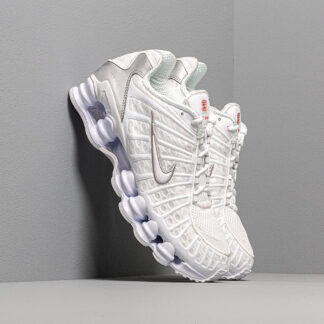 Nike Shox TL White/ White-Metallic Silver-Max Orange AV3595-100