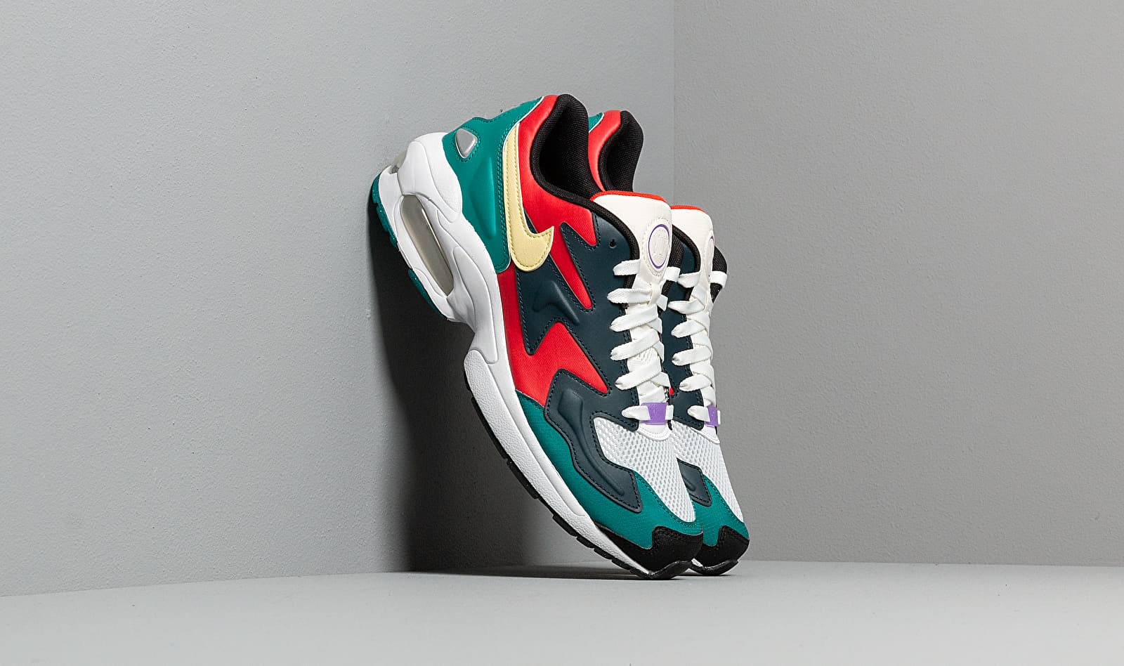 Nike Air Max 2 Light SP Habanero Red/Armory Navy-Radiant Emerald BV1359-600