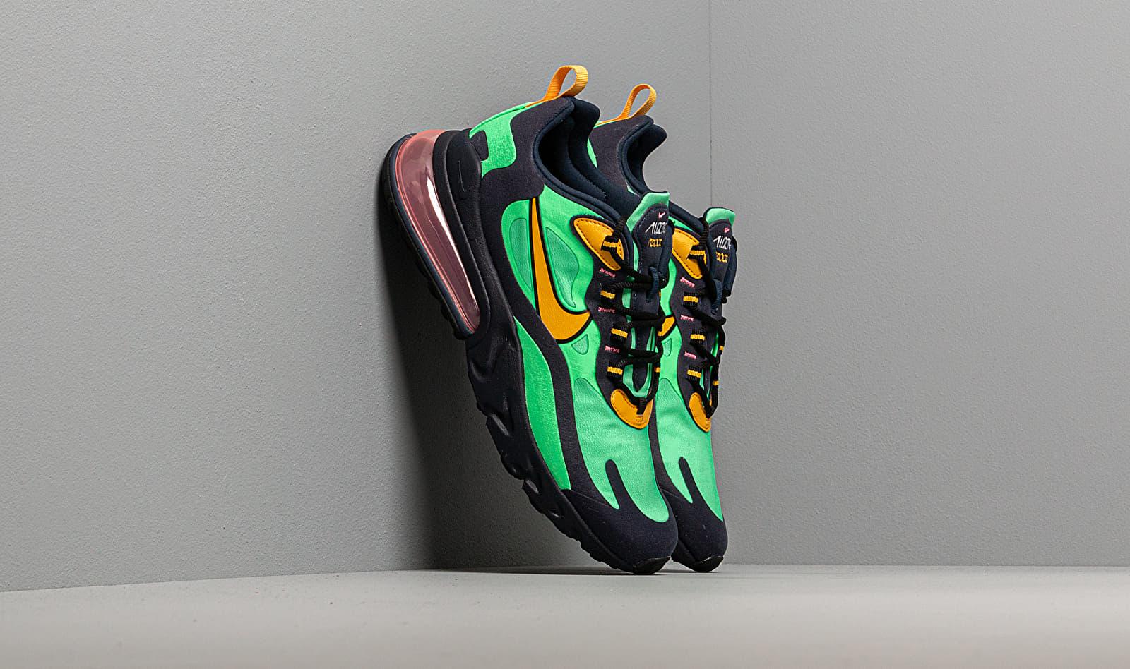Nike Air Max 270 React Electro Green/ Yellow Ochre-Obsidian AO4971-300