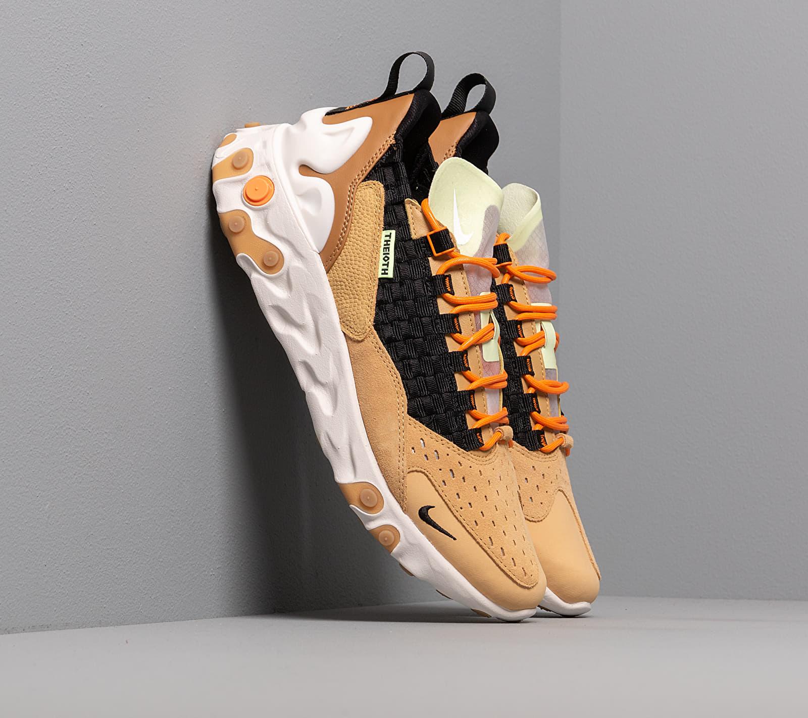 Nike React Sertu Club Gold/ Black-Wheat-Bright Ceramic AT5301-700