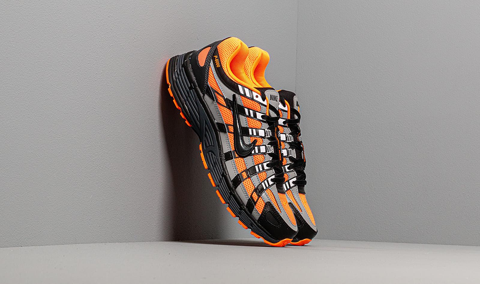 Nike P-6000 Total Orange/ Black-Anthracite-Flt Silver CD6404-800