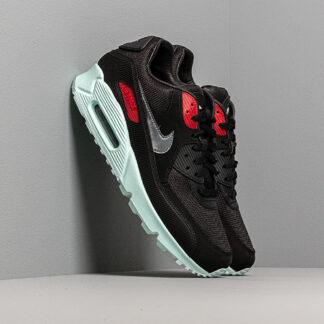 Nike Air Max 90 Premium Black/ Cool Grey-Teal Tint-University Red CK0902-001