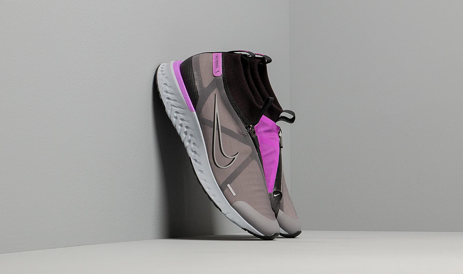 Nike React City Black/ Gunsmoke-Hyper Violet-White AT8423-001