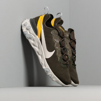 Nike React Element 55 Sequoia/ Light Bone-University Gold CQ6366-300
