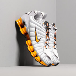 Nike Shox TL Off White/ Orange Peel-Wolf Grey-Oil Grey AV3595-101