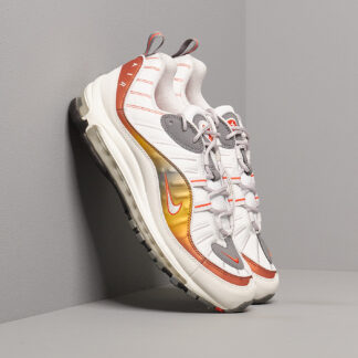Nike Air Max 98 Se Vast Grey/ Summit White-Team Orange CD0132-002