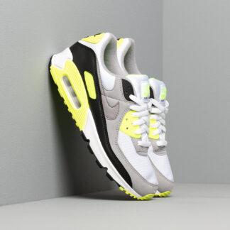 Nike Air Max 90 White/ Particle Grey-Volt-Black CD0881-103