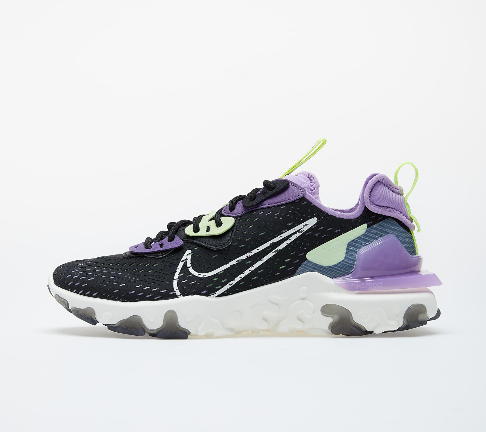 Nike React Vision Black/ Sail-Dk Smoke Grey-Gravity Purple CD4373-002