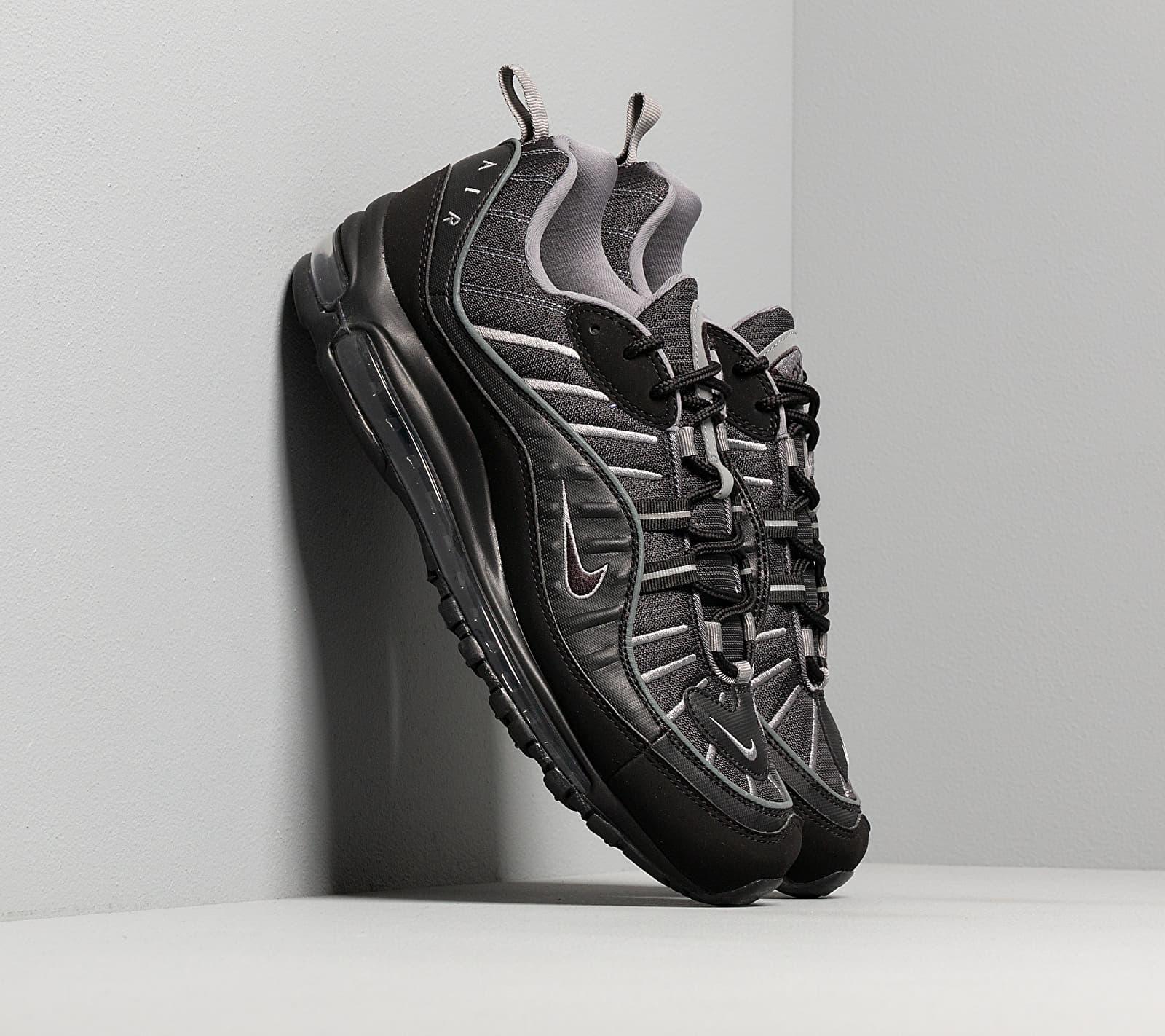 Nike Air Max 98 Black/ Black-Smoke Grey-Vast Grey CI3693-002