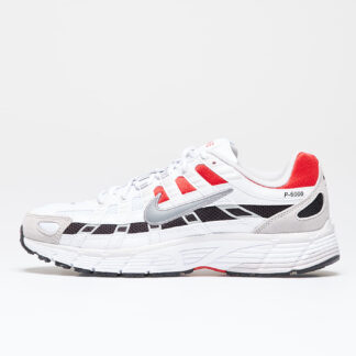 Nike P-6000 White/ Particle Grey-University Red CV3038-100