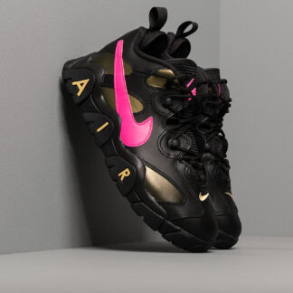 Nike Air Barrage Low QS Black/ Pink Blast-Infinite Gold CT8454-001