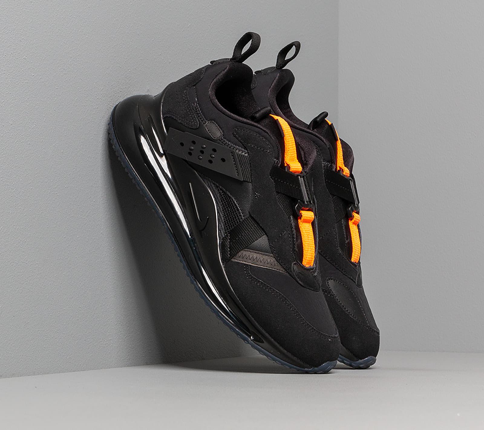 Nike Air Max 720 Slip / Obj Black/ Black-Total Orange DA4155-001