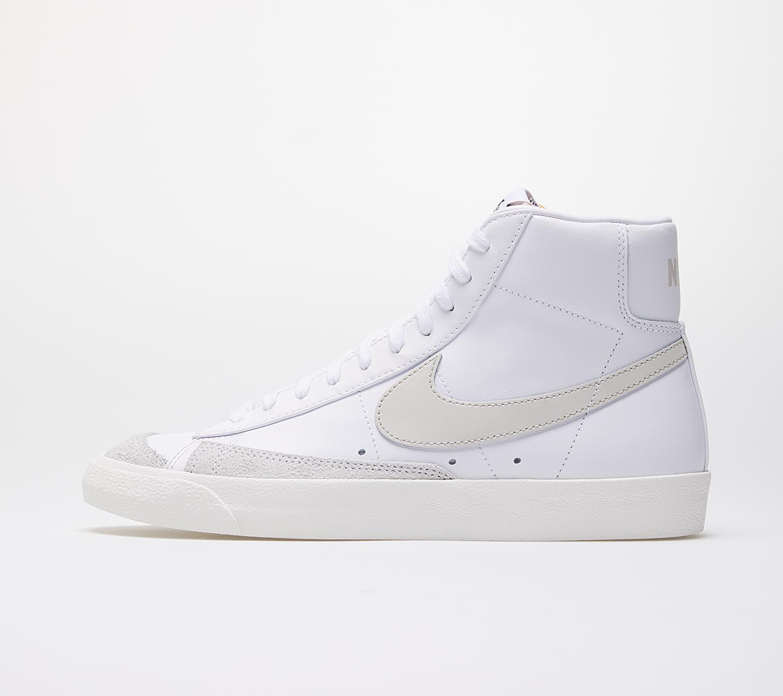 Nike Blazer Mid '77  Vintage White/ Light Bone-Sail BQ6806-106