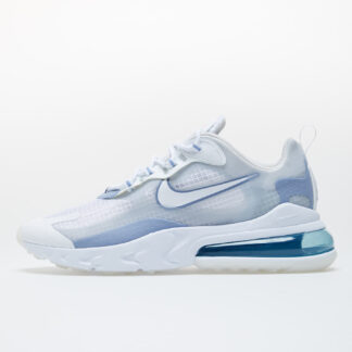 Nike Air Max 270 React SE White/ White-Pure Platinum-Indigo Fog CT1265-100
