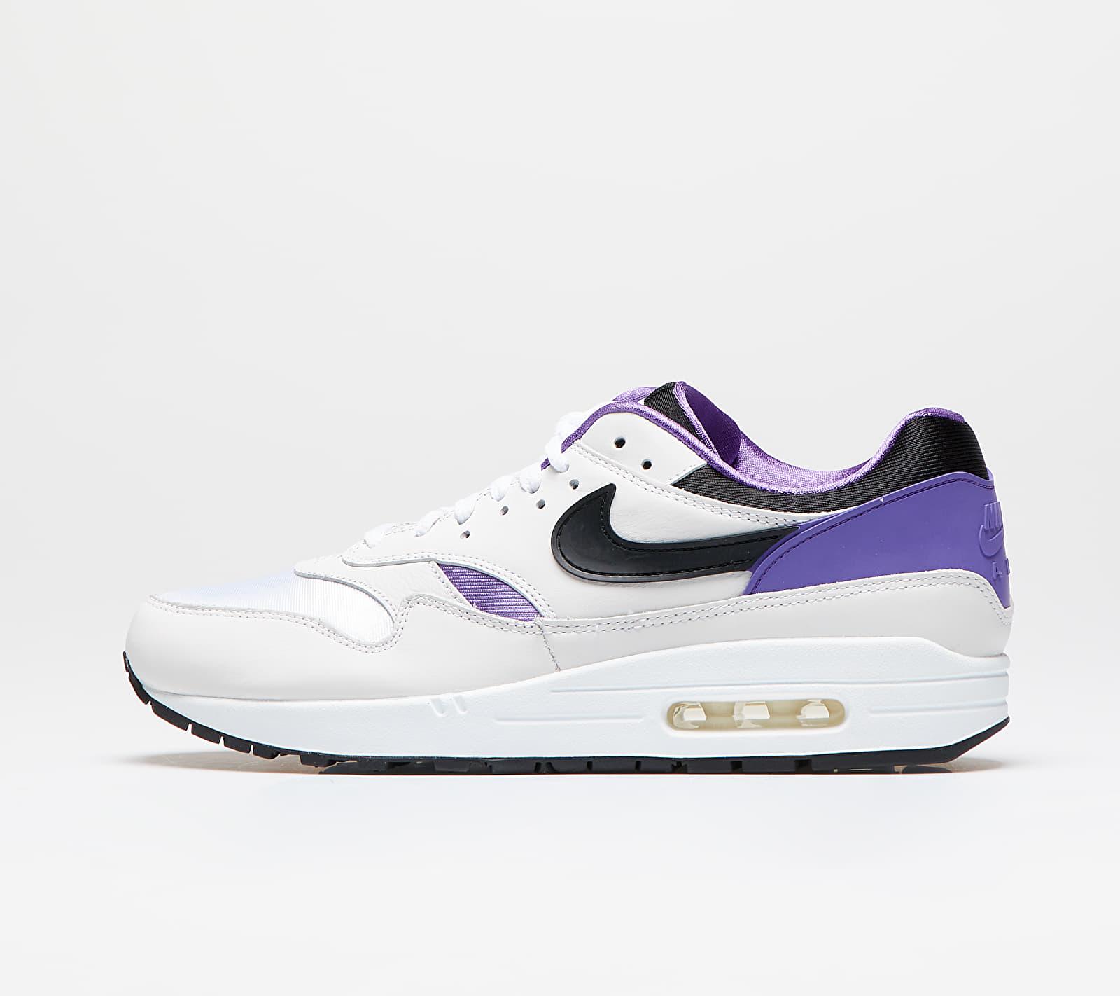 Nike Air Max 1 DNA CH.1 White/ Black-Purple Punch AR3863-101