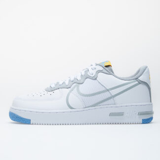 Nike Air Force 1 React White/ Lt Smoke Grey-University Gold CT1020-100