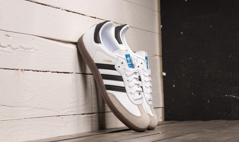 adidas Samba OG Ftw White/ Core Black/ Clear Granite BZ0057