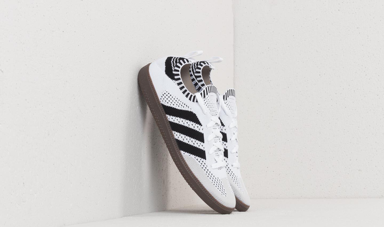 adidas Samba Primeknit Sock Ftw White/ Core Black/ Blue Bird CQ2217