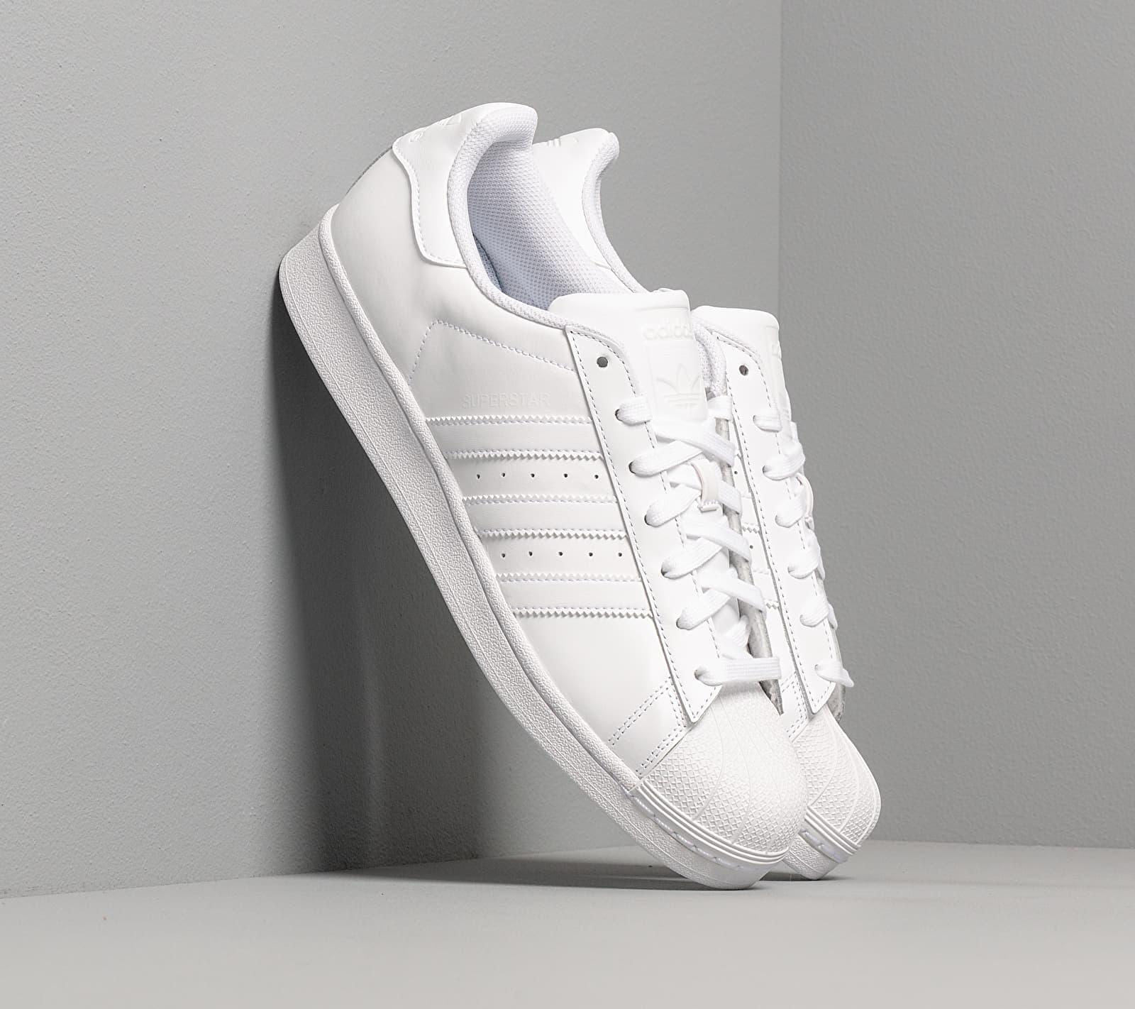 adidas Superstar Foundation Ftw White/ Ftw White/ Ftw White B27136
