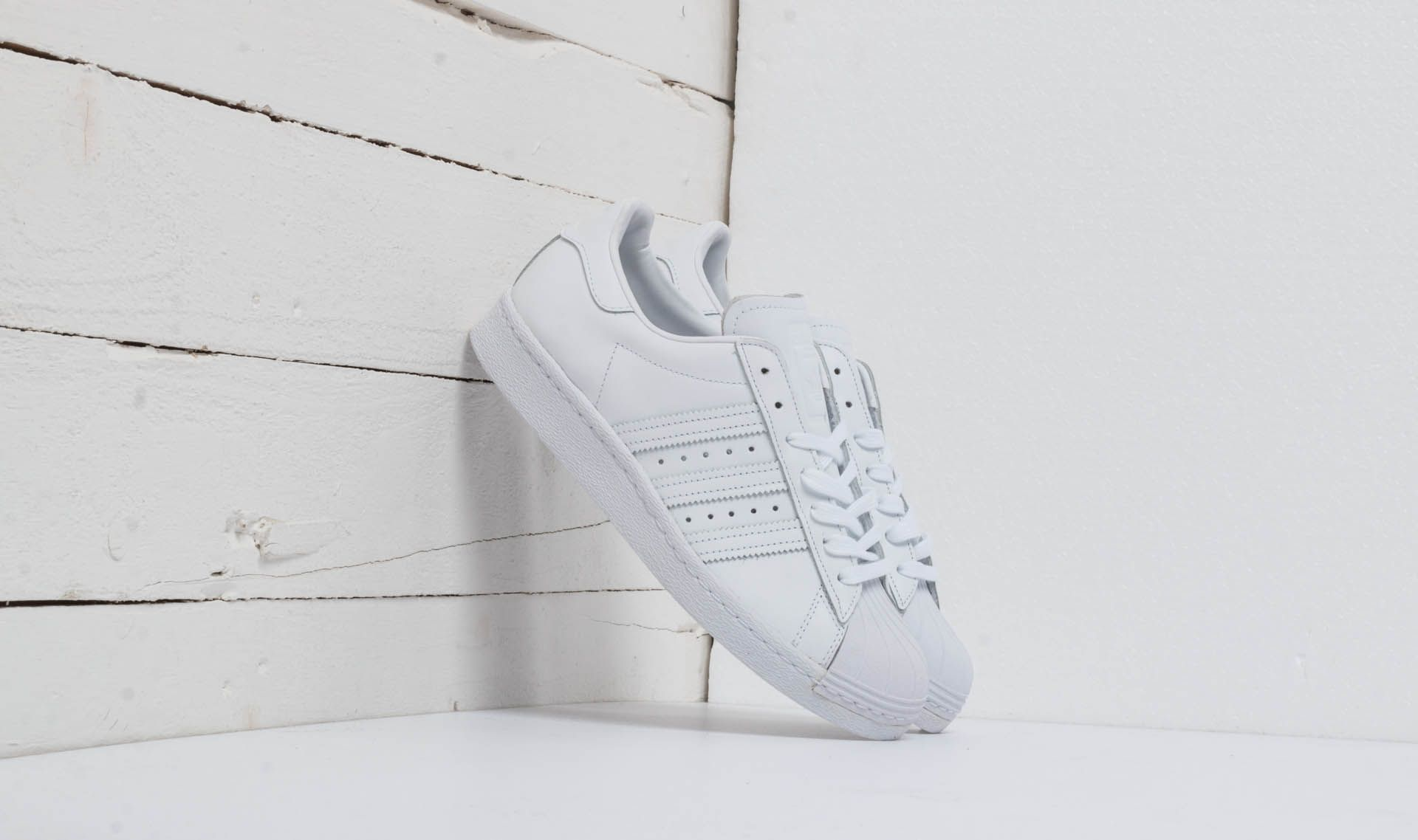 adidas Superstar 80s Ftw White/ Ftw White/ Core Black S79443