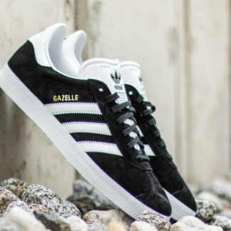 adidas Gazelle Core Black/ White/ Gold Metalic BB5476