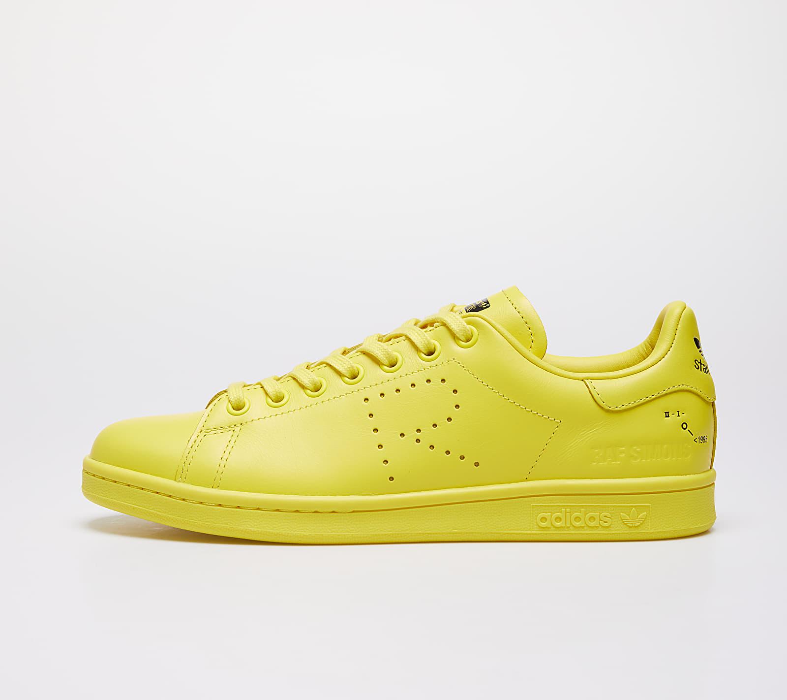 adidas x Raf Simons Stan Smith Bright Yellow/ Pure Yellow S08/ Ftw White F34259