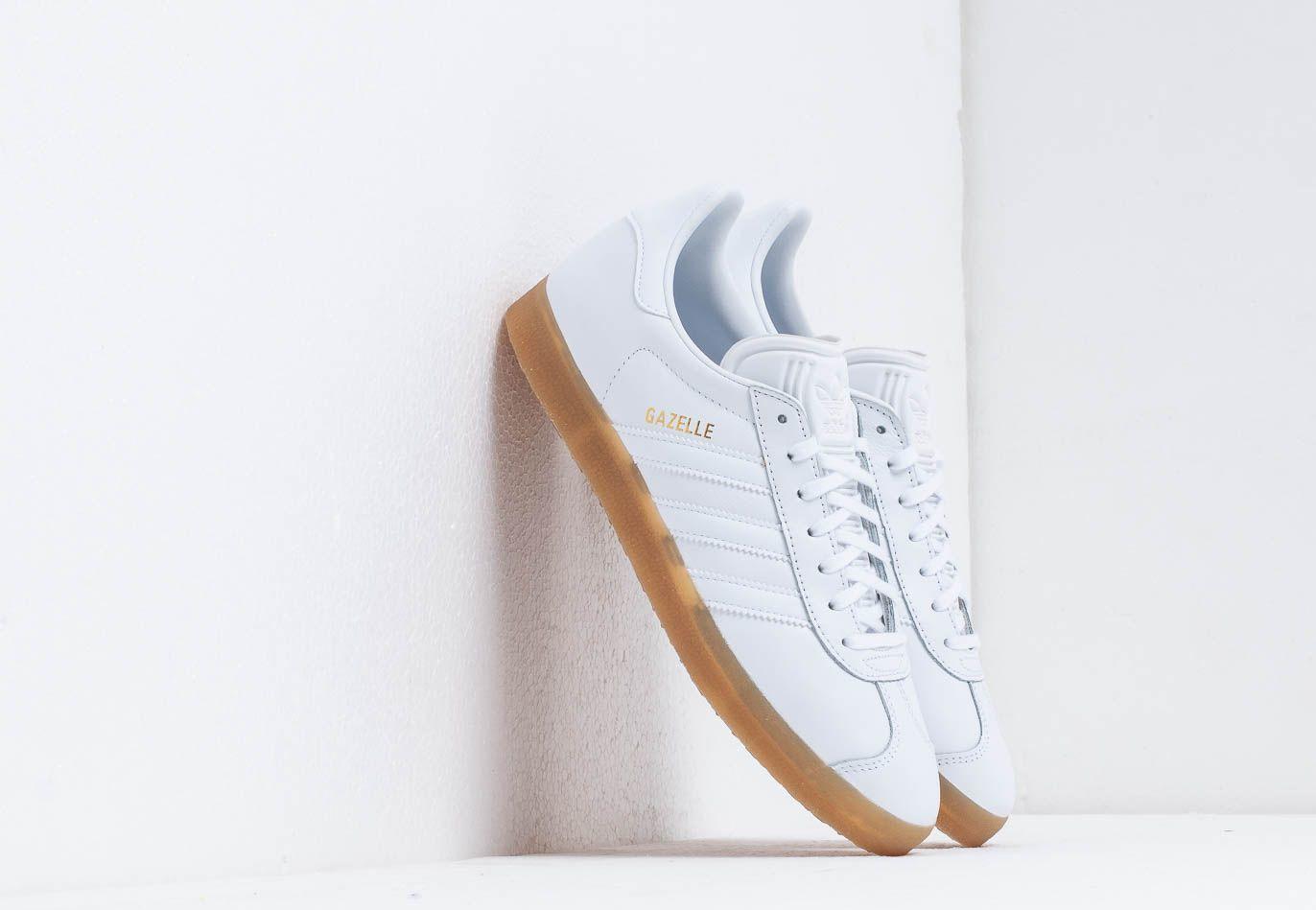 adidas Gazelle Ftw White/ Ftw White/ Gum4 BD7479