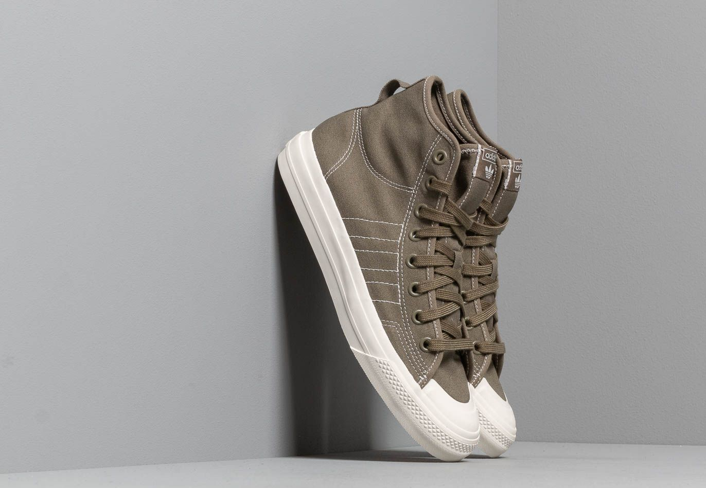 adidas Nizza Hi Rf Rawkha/ Off White/ Off White BD7481