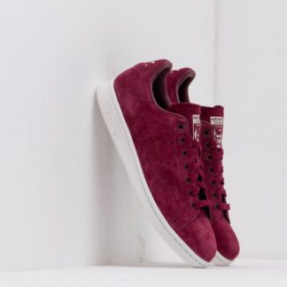 adidas Stan Smith Maroon/ Crystal White/ Cream Brown DB3569