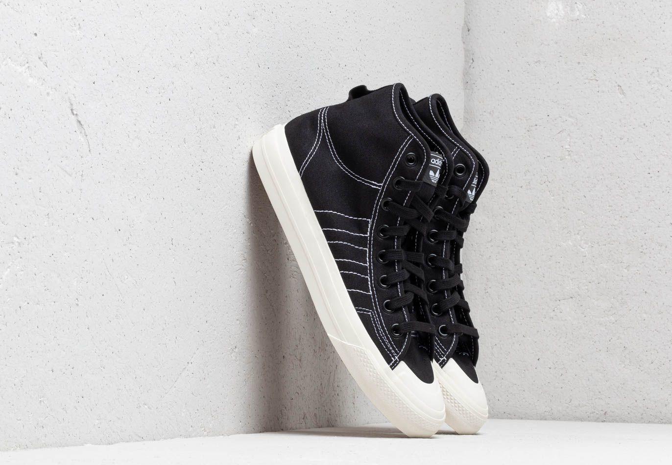 adidas Nizza Hi Rf Core Black/ Ftw White/ Off White F34057