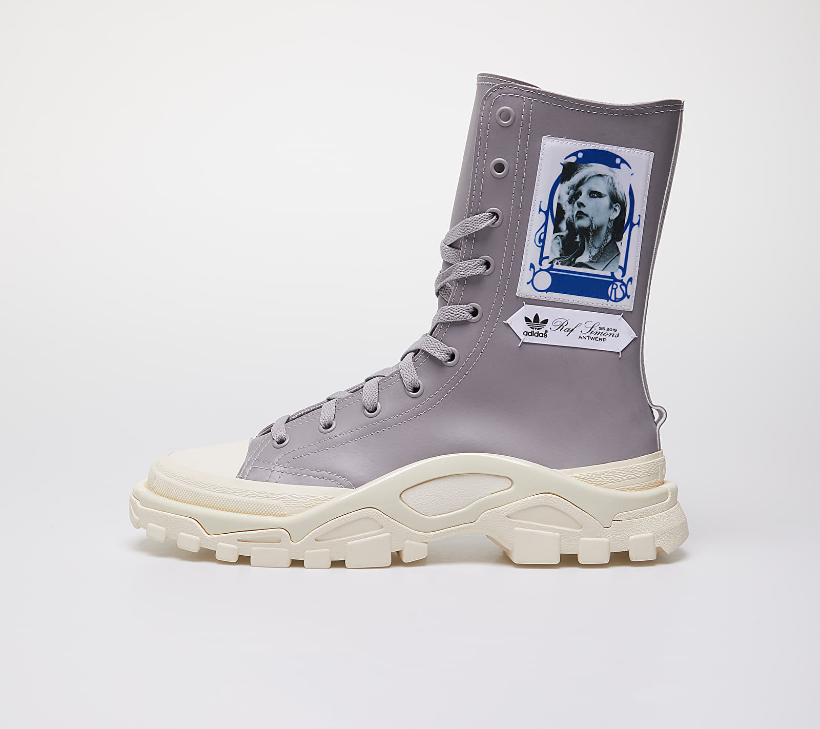adidas x Raf Simons Detroit High Light Granite/ Ftw White/ Core White EE7942