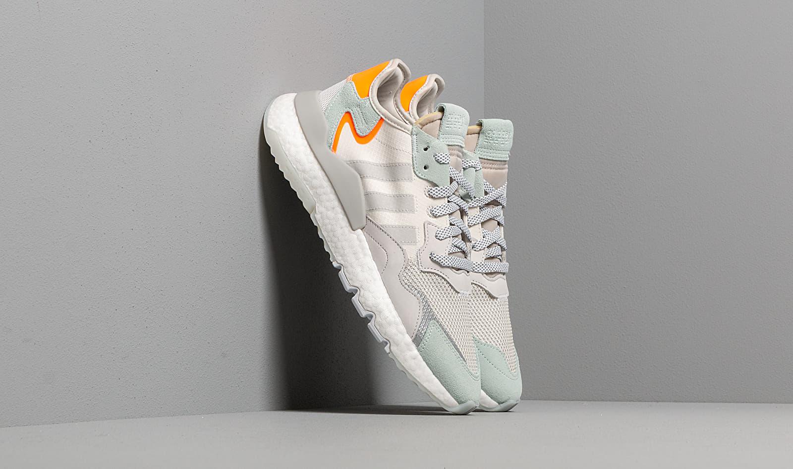 adidas Nite Jogger Raw White/ Grey One/ Vapor Green BD7956
