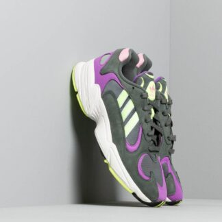 adidas Yung-1 Legend Ivy/ Hi-Res Yellow/ Active Purple BD7655