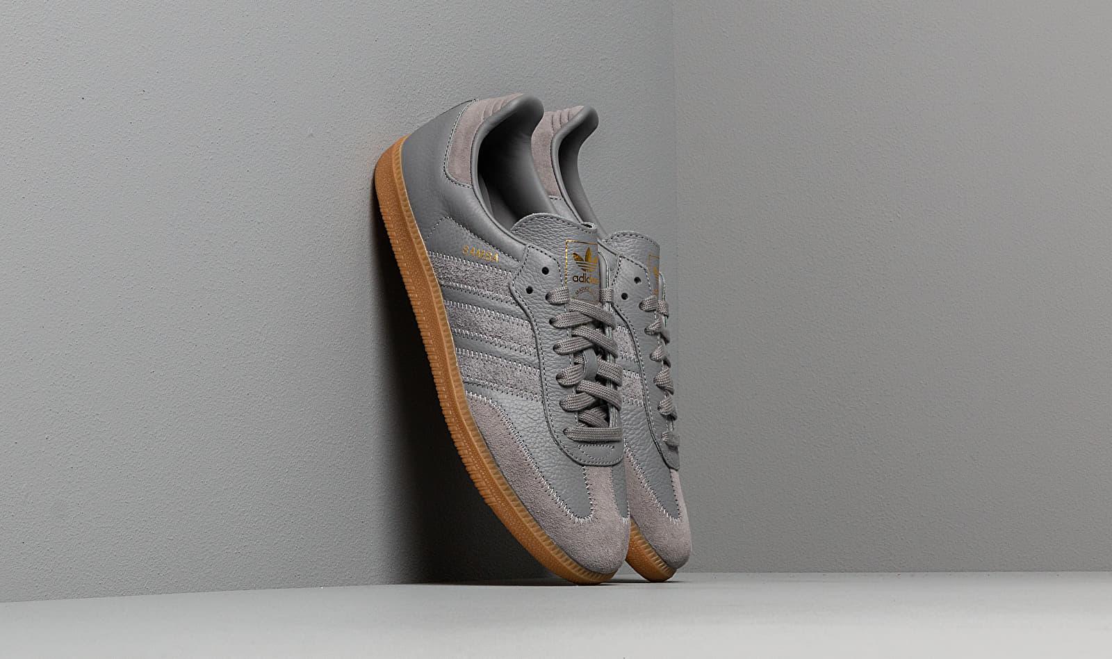 adidas Samba OG Ft Grey Three/ Grey Three/ Gold Metalic BD7963