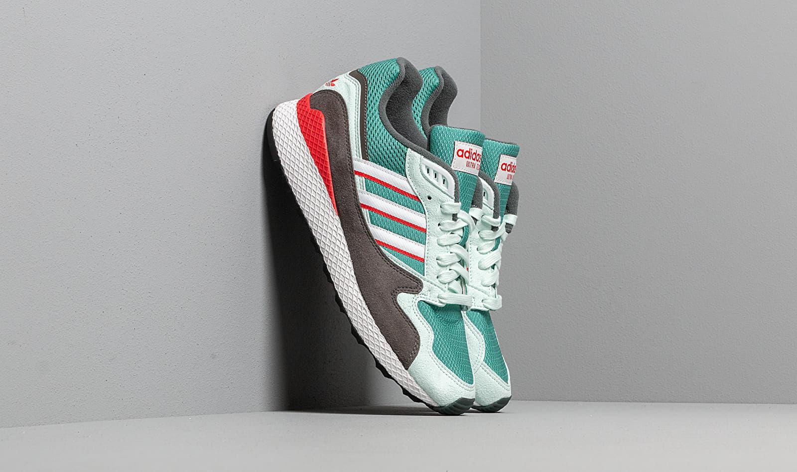 adidas Ultra Tech True Green/ Ftw White/ Lush Red BD7936