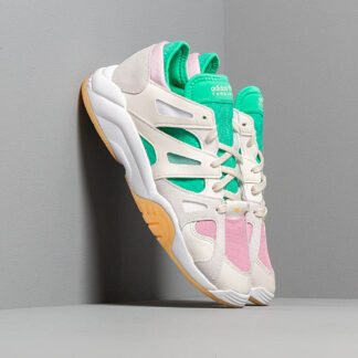 adidas Dimension Low Top Cloud White/ Off White/ Hi-Res Green CG6531