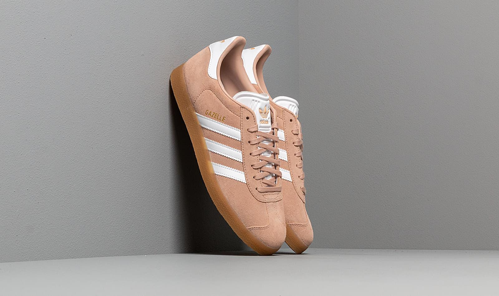 adidas Gazelle Ash Pearl/ Ftw White/ Gum3 CM8467
